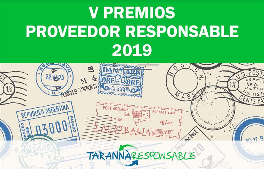 V Premios Proveedor Responsable 2019