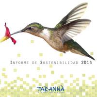 Tarannà Informe Sostenibilidad 2014