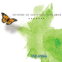 Tarannà Informe Sostenibilidad 2015