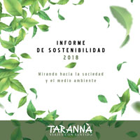 Tarannà Informe Sostenibilidad 2018